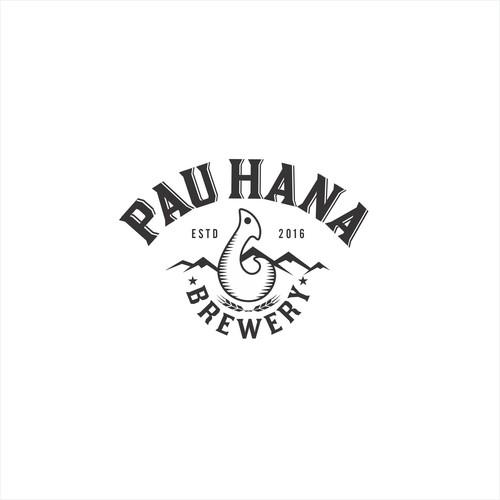 Pau Hana Brewery logo