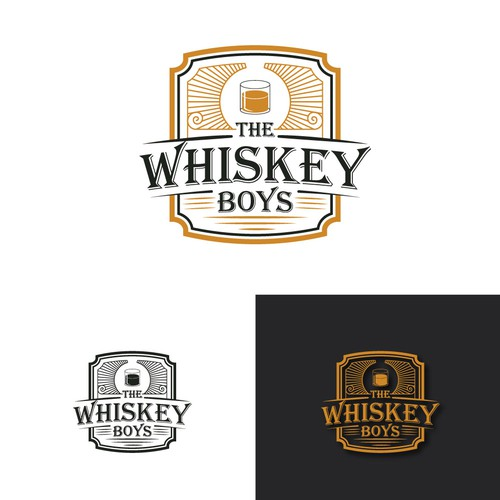Whiskey logo vintage
