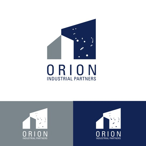 Runner-up logo concept designed based off the Orion constellation for a consulting business in the commercial real estate sector. [November 2015]