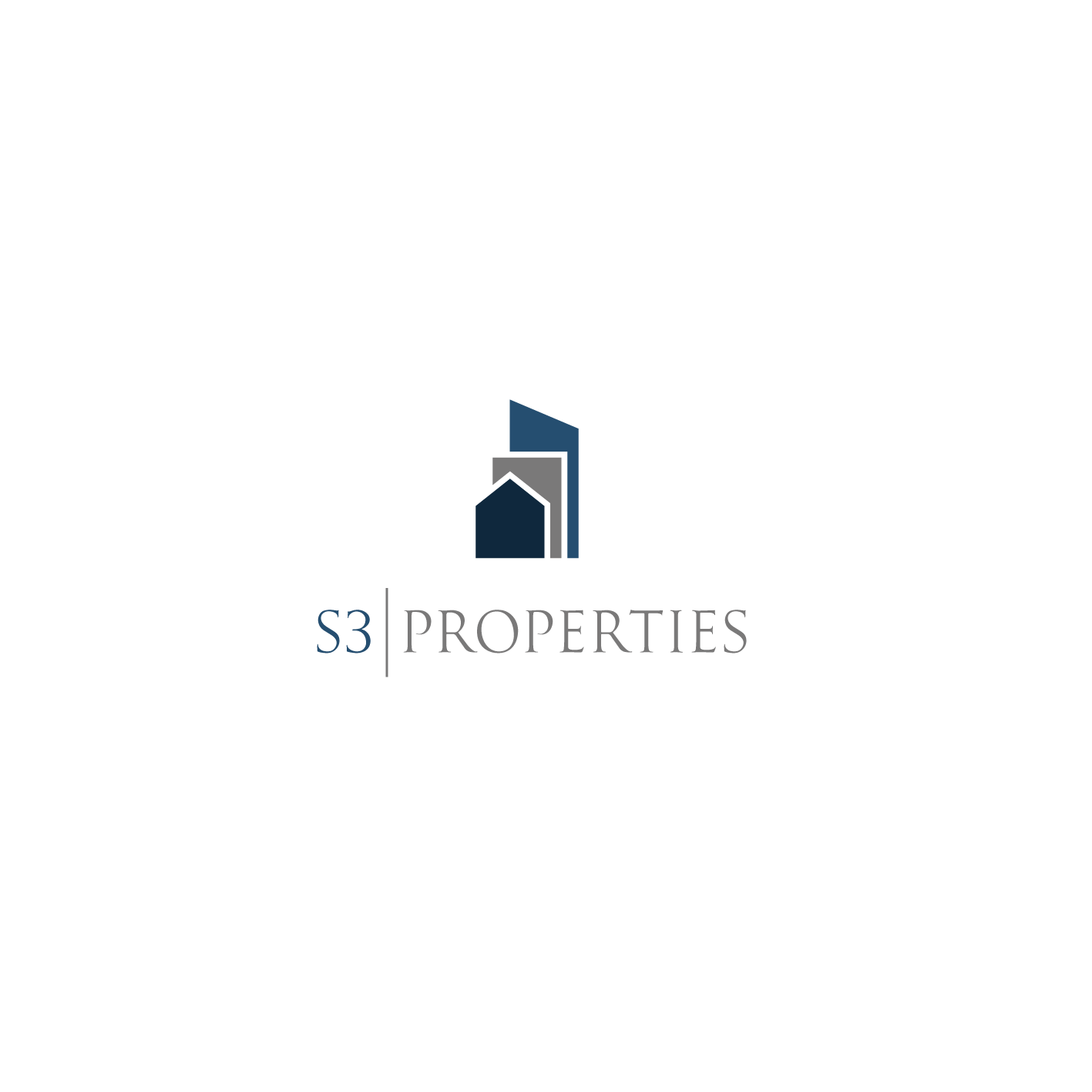 Create a logo for the company name: S3 Properties