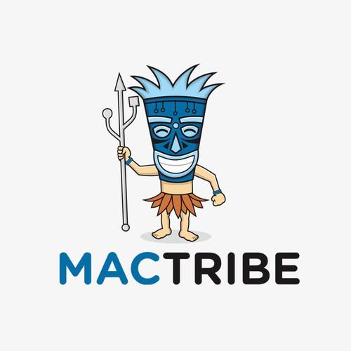 Mactribe logo design