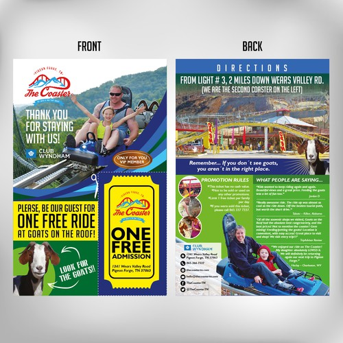 FLYER DESIGN FOR THE COASTER