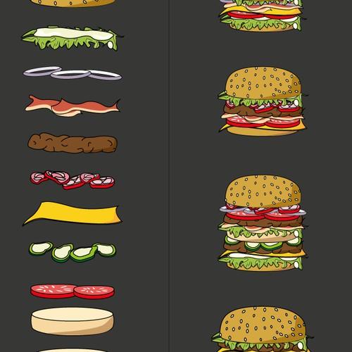 Build a burger Concept
