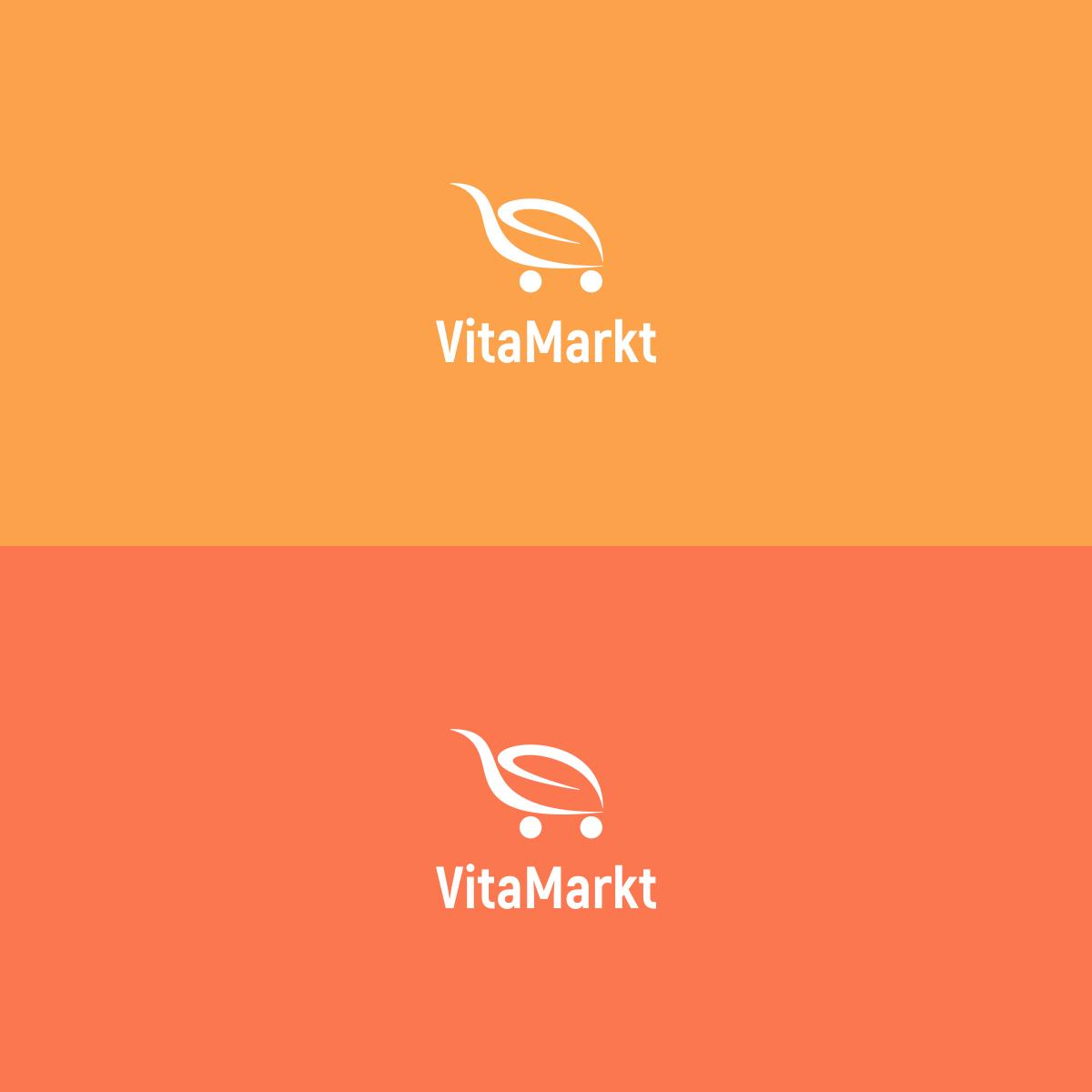 Design a creative logo for VitaMarkt