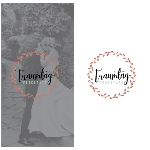 Organic logo concept for Wedding Service.