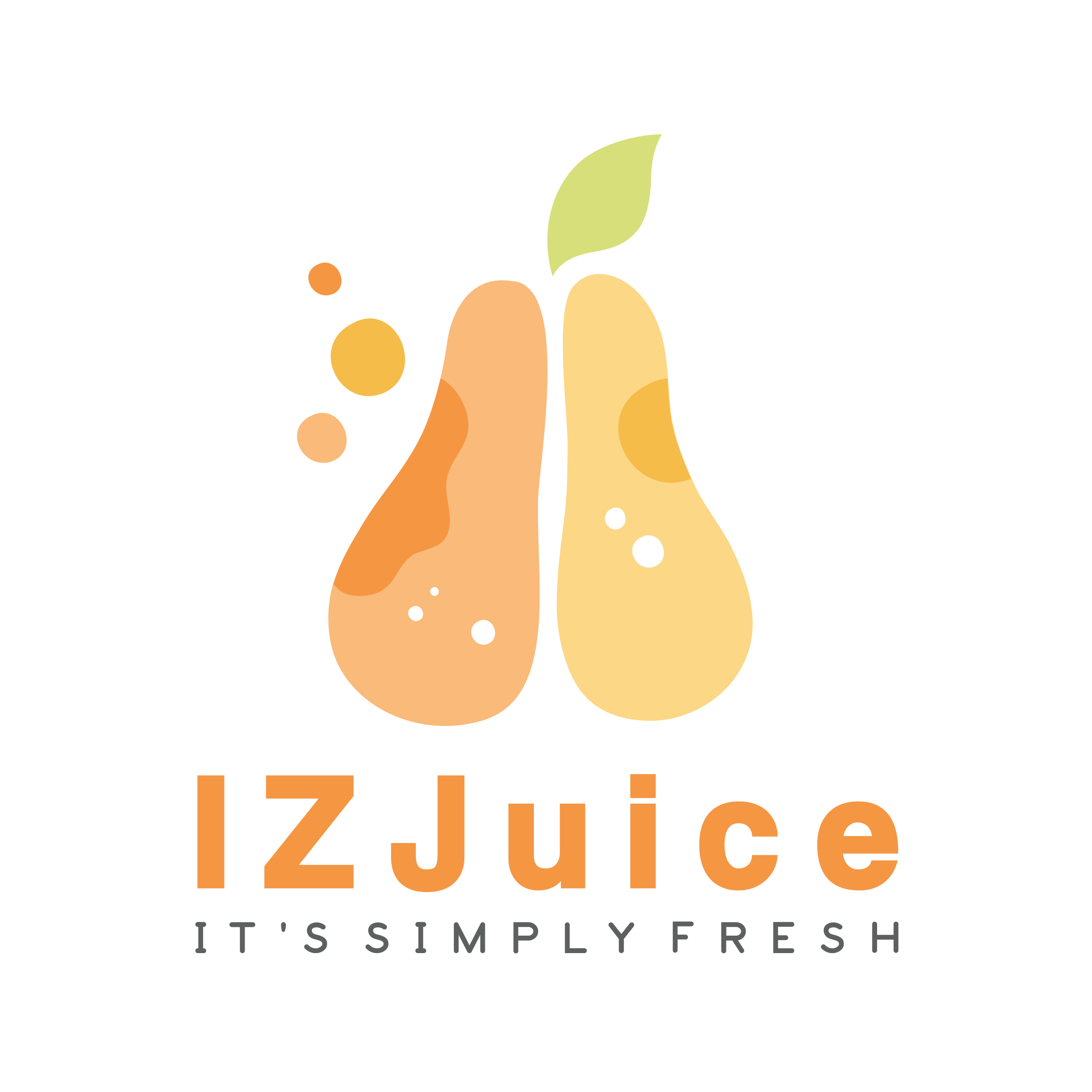 It's simply fresh design for a leading juice brand
