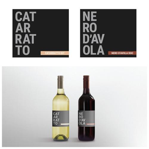 Red and White Italian Wine