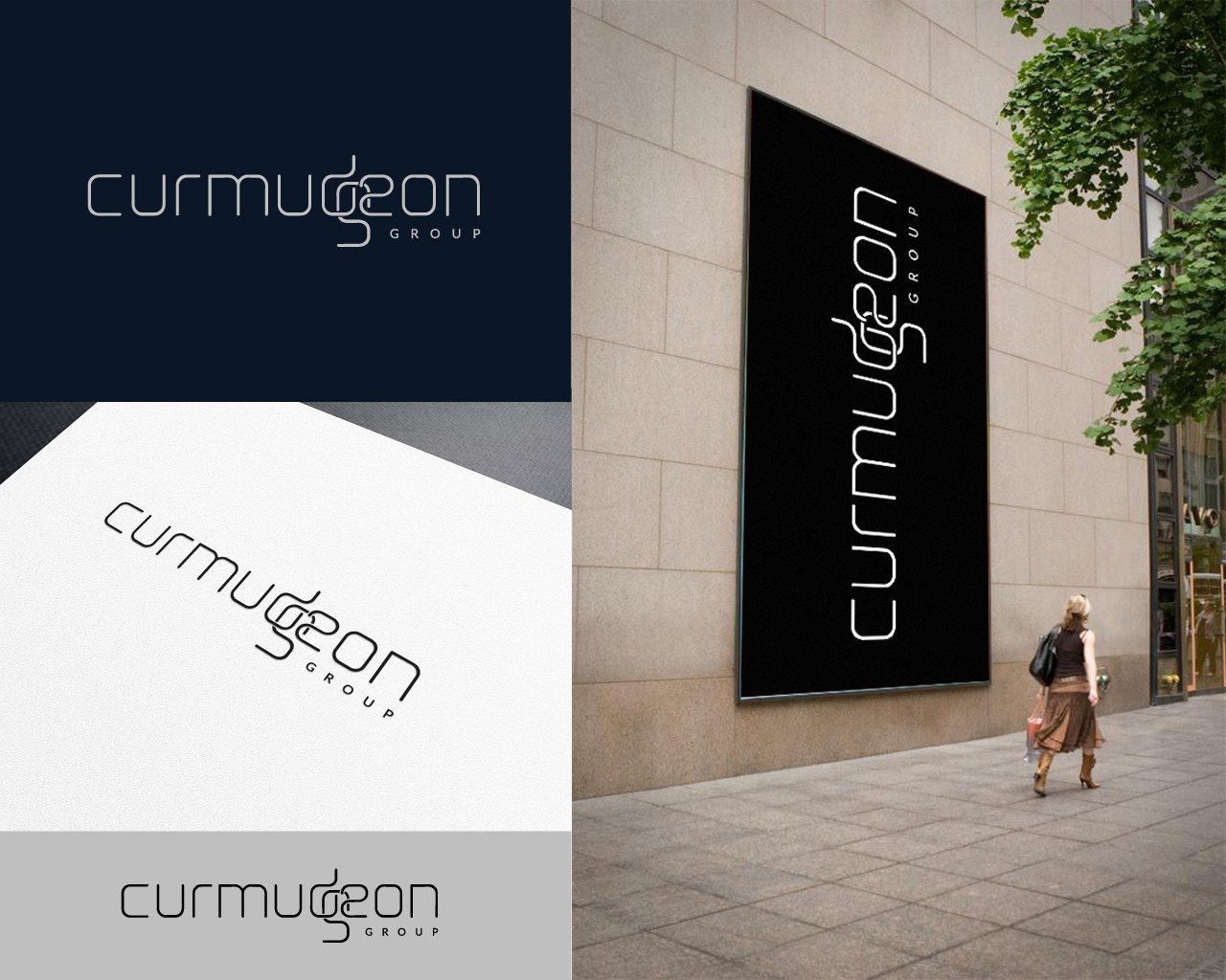 Create the Curmudgeon logo - what a name!