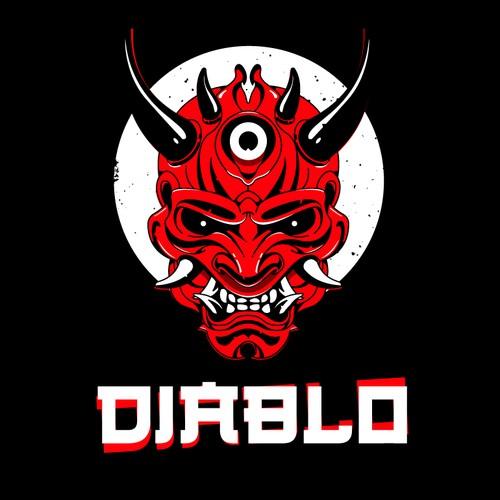 Japanese Devil Logo