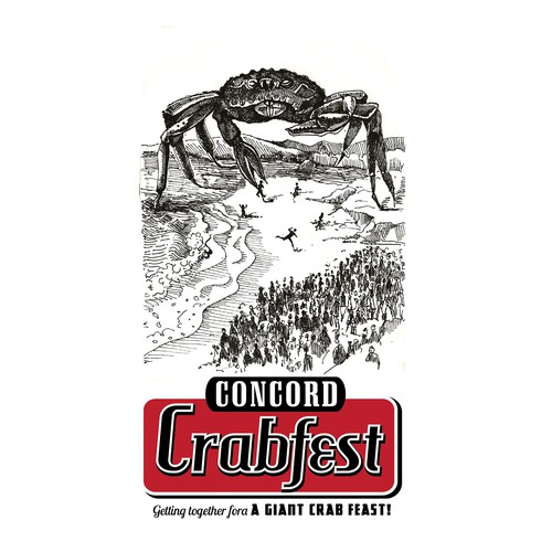 Concord Crabfest needs a new logo