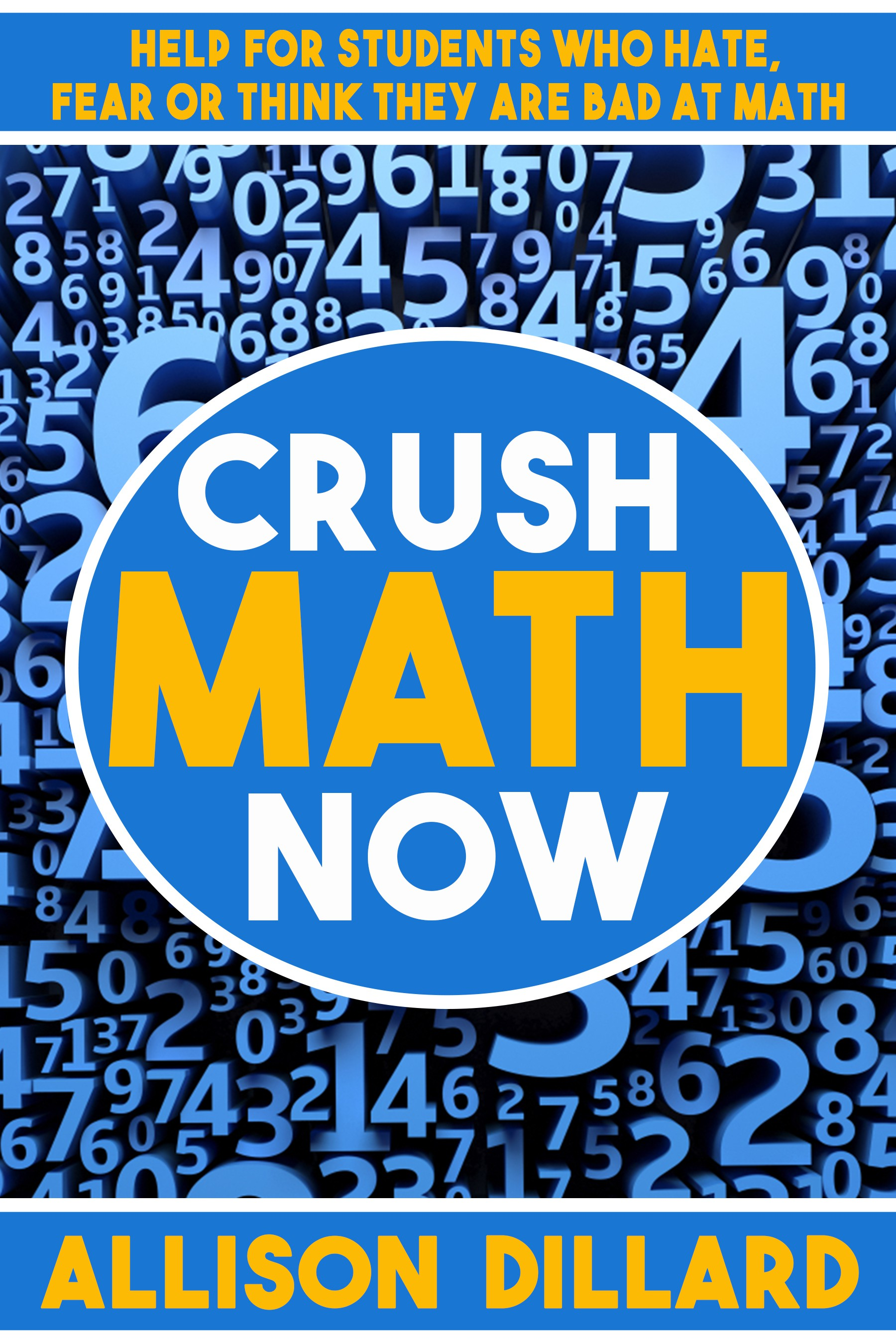 Design a Kickass Book Cover for Crush Math Now