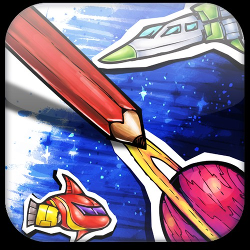 iOS Space Game Needs Logo and Icon