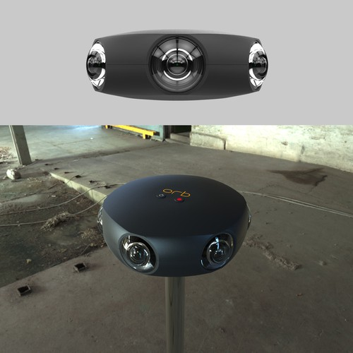 ORB Virtual reality professional camera concept