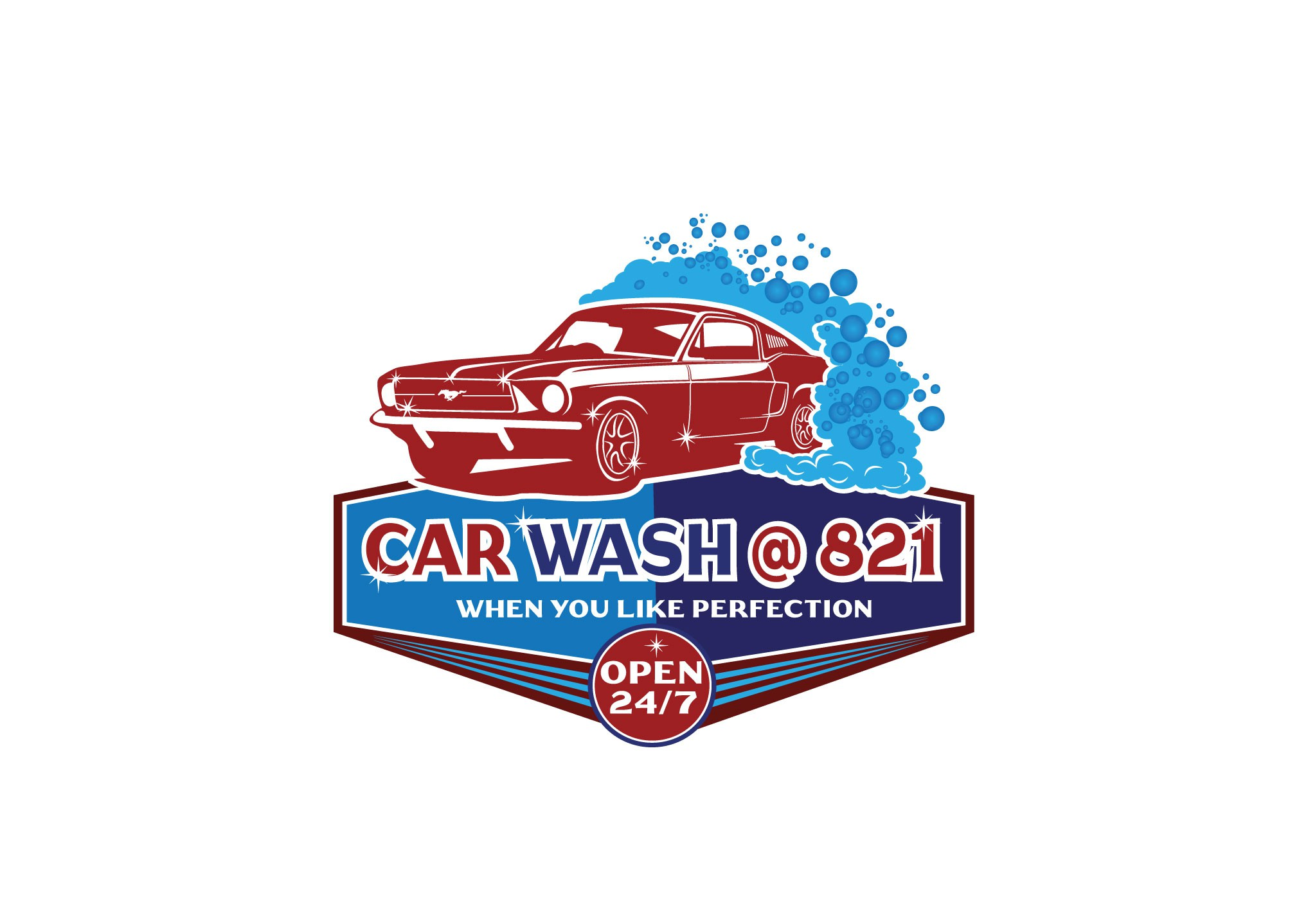 suds/bubbles, ford mustang, fast, sparkling, energizing,