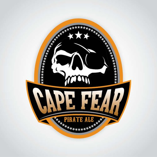 Create the next logo for Cape Fear Pirate Ale