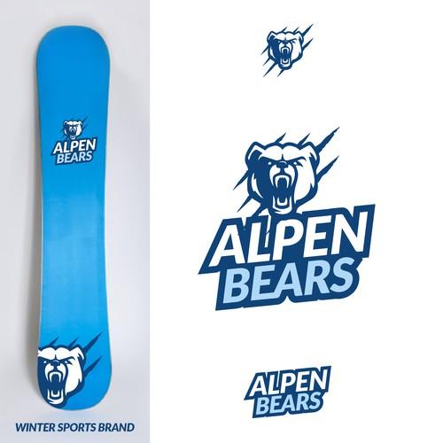 Logo Concept for AlpenBears