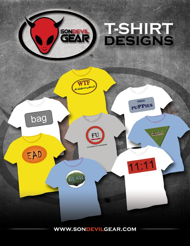 Help Son Devil Gear with a new postcard or flyer