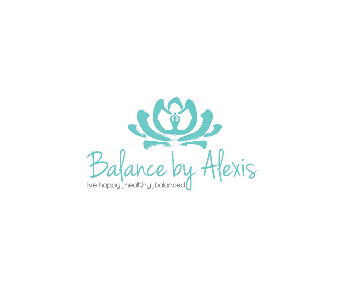 Design a cool logo for a Health Coaching and Yoga Business, Balance by Alexis