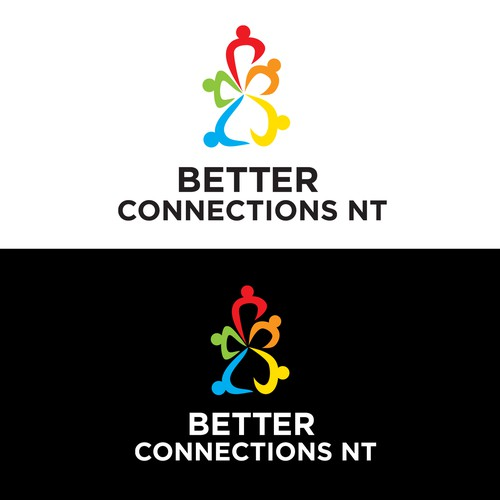 Better Connections NT logo design