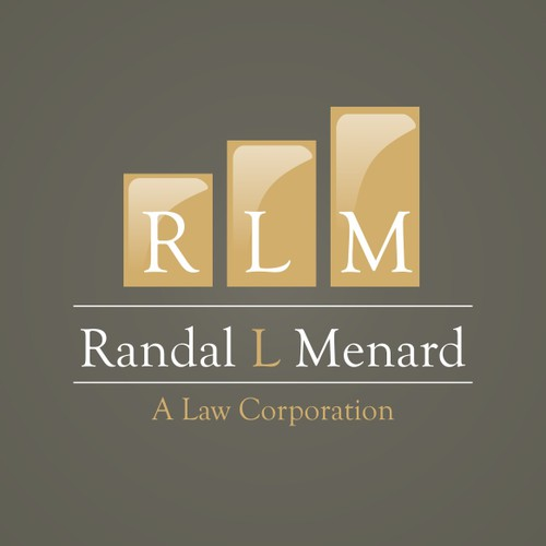 Randal L. Menard, A Law Corporation needs a new Logo Design
