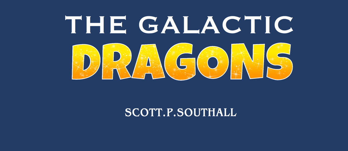 Galactic Dragons Illustrations and Formatting