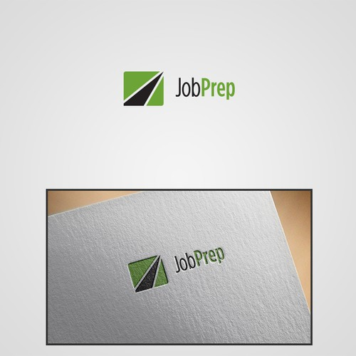 Winning entry for JobPrep Logo Contest