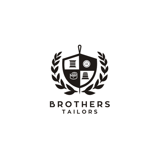 Sophistication & ClassLogo For Brothers Tailors