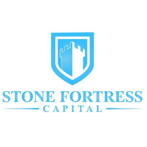Create a ROCK SOLID logo for Stone Fortress Capital, a sophisticated Hedge Fund.