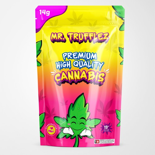 MR. TRUFFLEZ Marijuana Packaging