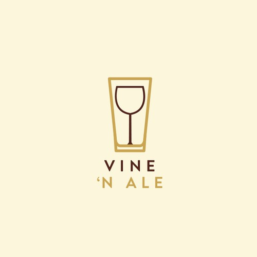 Logo for beer & wine distributor