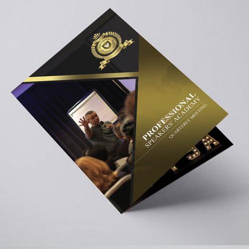 byfold brochure for speaker