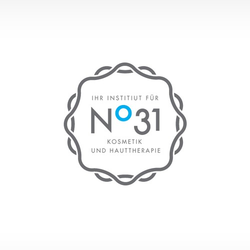 Logo design for a N. 31 Cosmetic Institute