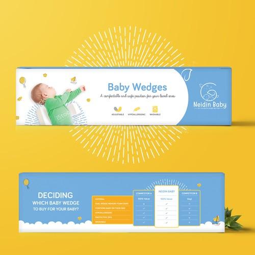 Baby wedge packaging design