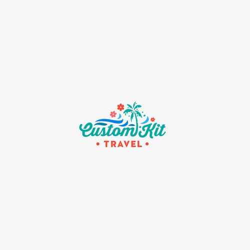 Custom Kit Travel Logo