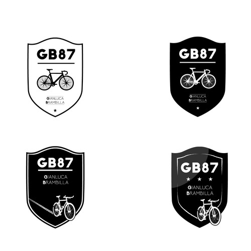 Hipster Fixibike Emblem Design