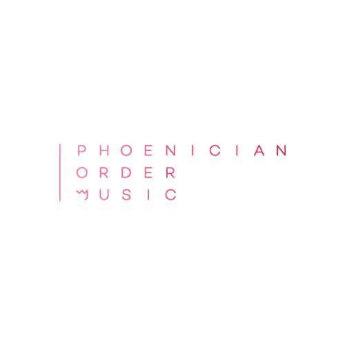 Phoenician Order Music Logo
