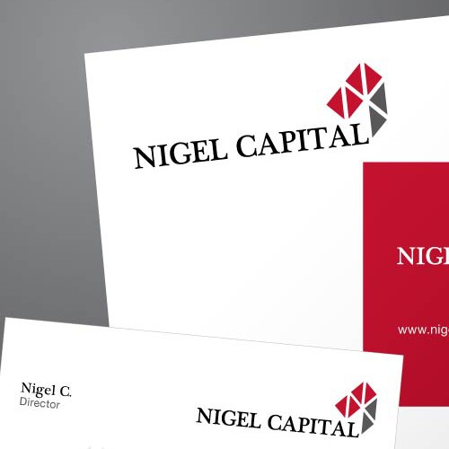 New logo and business card wanted for Nigel Capital