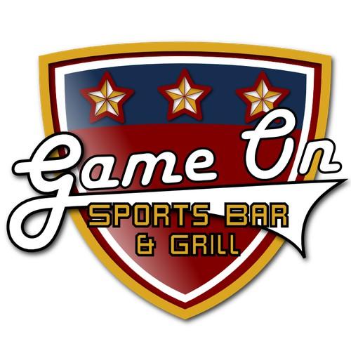 Logo for sports bar
