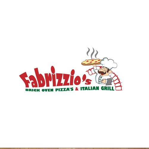 Logo concept for pizza