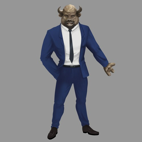 Buffalo Character