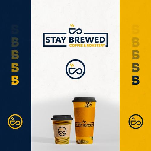 Winning Logo for Stay Brewed