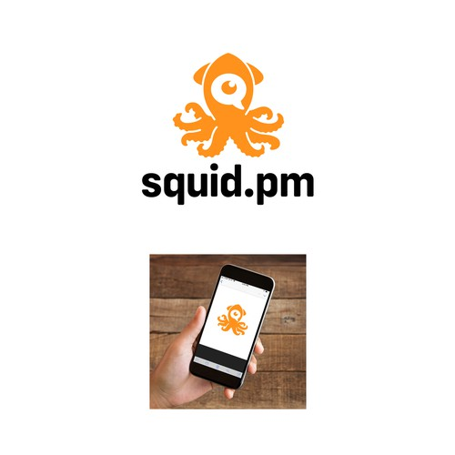 Squid.pm Logo Design