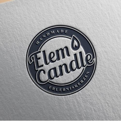 Lettering concept for Elem Candle