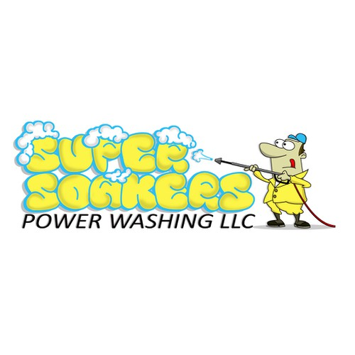 Help SuperSoakers Power Washing LLC. with a new logo