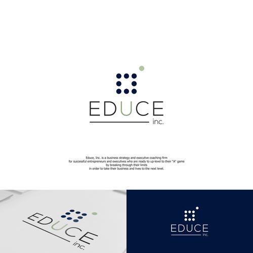 Educe,Inc. logo concept