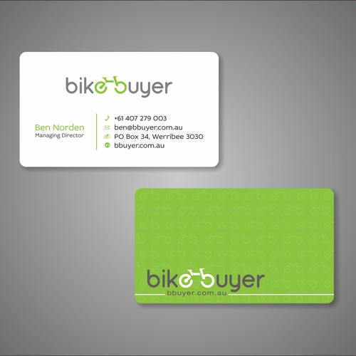 Best business card wins!
