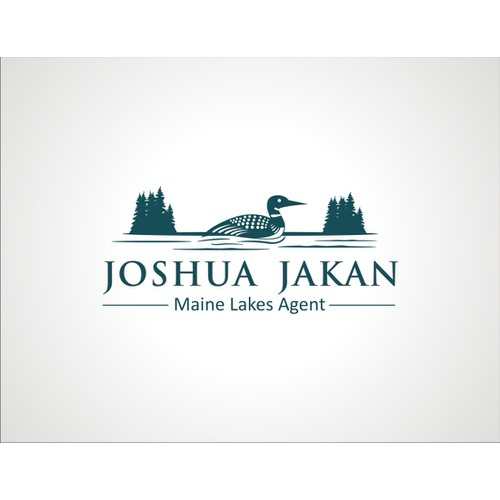Create a logo for Lakefront Real Estate Sales