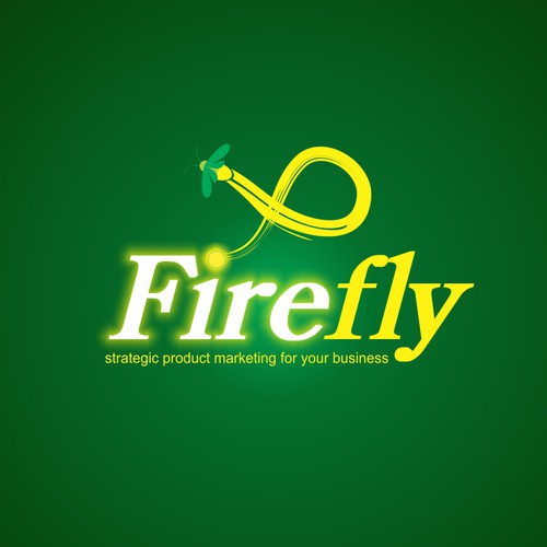 "Create a ""firefly"" logo for a marketing business in Silicon Valley."