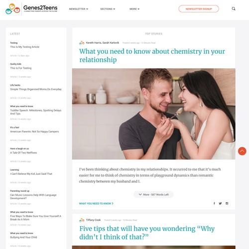 Parenting Advice Website