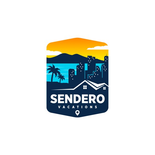 logo concept for Sendero Vacations